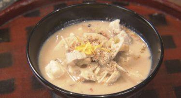 養生料理・酒かすの豚汁(NHKシブ5時)